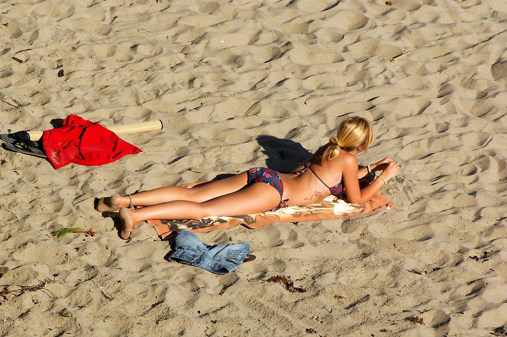 on the Beach, Santa Cruz, California, United States of America
