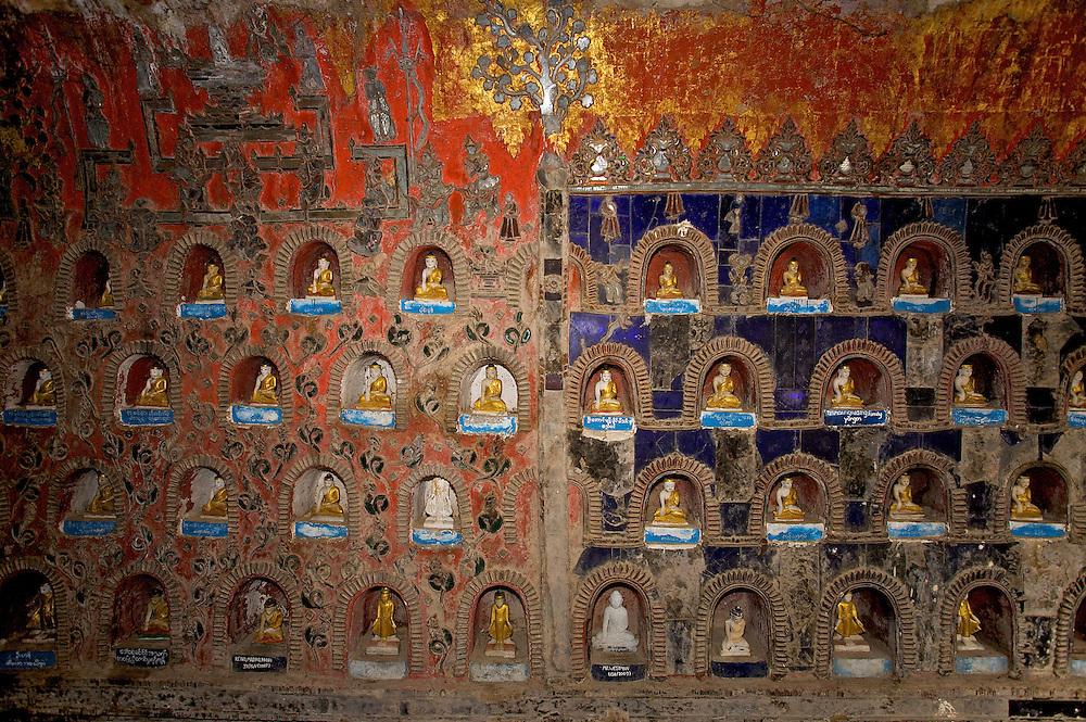 Shwe Yanughwe Kyanug monastery, Inle Lake, Myanmar.