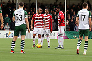 Hamilton Academical midfielder Dougie Imrie (7) stands over the ball prior to a free kick during the Ladbrokes Scottish Premiership match between Hamilton Academical FC and Celtic at New Douglas Park, Hamilton, Scotland on 24 November 2018. Pic Mick Atkins