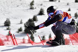 MAYRHOFER Patrick, SB-UL, AUT, Banked Slalom at the WPSB_2019 Para Snowboard World Cup, La Molina, Spain