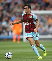 Jack Cork of Burnley in action - Mandatory by-line: Jack Phillips/JMP - 19/08/2017 - FOOTBALL - Turf Moor - Burnley, England - Burnley v West Bromwich Albion - Premier League