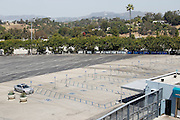 LOS ANGELES, CA - MAY 27:  Empty seats parking lots await the start of the Los Angeles Dodgers game against the Houston Astros on Sunday, May 27, 2012 at Dodger Stadium in Los Angeles, California. The Dodgers won the game 5-1. (Photo by Paul Spinelli/MLB Photos via Getty Images)