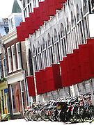 Street in Utrecht, Holland