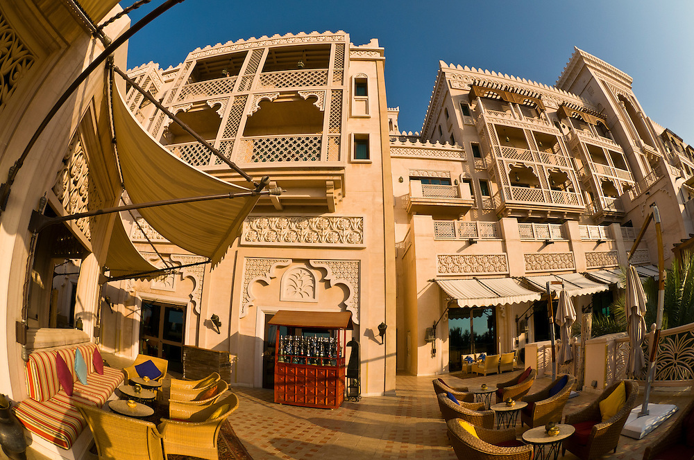 The Al Qasr Hotel, part of the Madinat Jumeirah resort complex, Dubai, United Arab Emirates