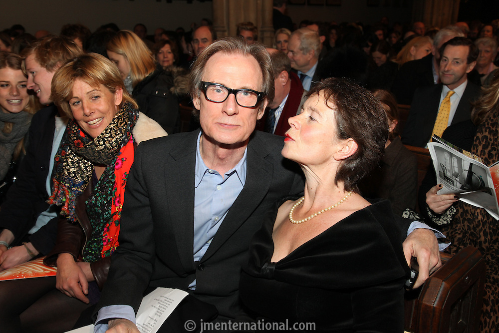 Lucy Morris, Bill Nighy and Celia Imrie