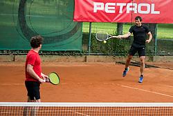 Rok Vodnik at Petrol VIP tournament 2018, on May 24, 2018 in Sports park Tivoli, Ljubljana, Slovenia. Photo by Vid Ponikvar / Sportida