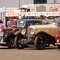 Vintage Bentley Club at Silverstone Classics 21/22 july 2012