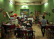 Vietnam, Hanoi: reastaurant.
