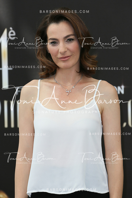"MONTE-CARLO, MONACO - JUNE 11:  Ayelet Zurer attends ""Hostages"" photocall at the Grimaldi Forum on June 11, 2014 in Monte-Carlo, Monaco.  (Photo by Tony Barson/FilmMagic)"