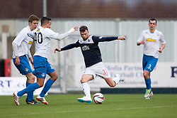 Falkirk's Rory Loy.<br /> Falkirk 1 v 1 Morton, Scottish Championship game today at The Falkirk Stadium.<br /> &copy; Michael Schofield.