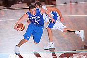 DESCRIZIONE : Cagliari Torneo Internazionale Sardegna a canestro Italia Estonia <br /> GIOCATORE : Valerio Amoroso <br /> SQUADRA : Nazionale Italia Uomini Italy <br /> EVENTO : Raduno Collegiale Nazionale Maschile <br /> GARA : Italia Estonia Italy Estonia <br /> DATA : 13/08/2008 <br /> CATEGORIA : Penetrazione Palleggio <br /> SPORT : Pallacanestro <br /> AUTORE : Agenzia Ciamillo-Castoria/S.Silvestri <br /> Galleria : Fip Nazionali 2008 <br /> Fotonotizia : Cagliari Torneo Internazionale Sardegna a canestro Italia Estonia <br /> Predefinita :