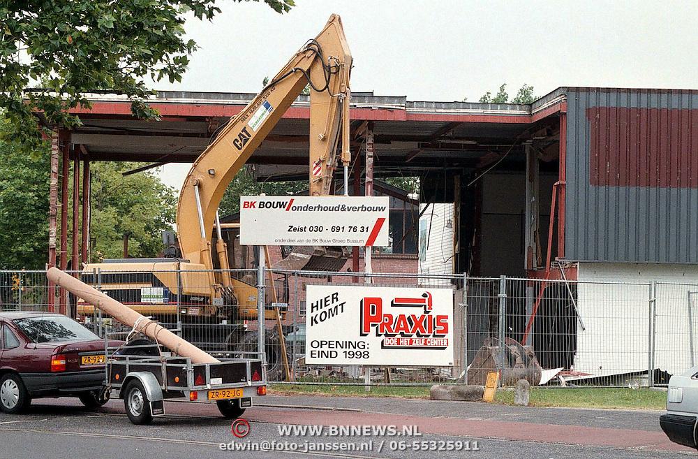 Sloop tenniscentrum Ad van Daalen Eemlandweg Huizen