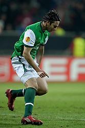 25.02.2010, Weser Stadion, Bremen, GER, UEFA Europa League, Werder Bremen vs FC Twente Enschede,  Runde Letzte 32 Rueckspiel, im Bild Jubel 2:0 Claudio Pizarro ( Werder  #24 )  EXPA Pictures © 2010, PhotoCredit: EXPA/ nph/  Kokenge / SPORTIDA PHOTO AGENCY