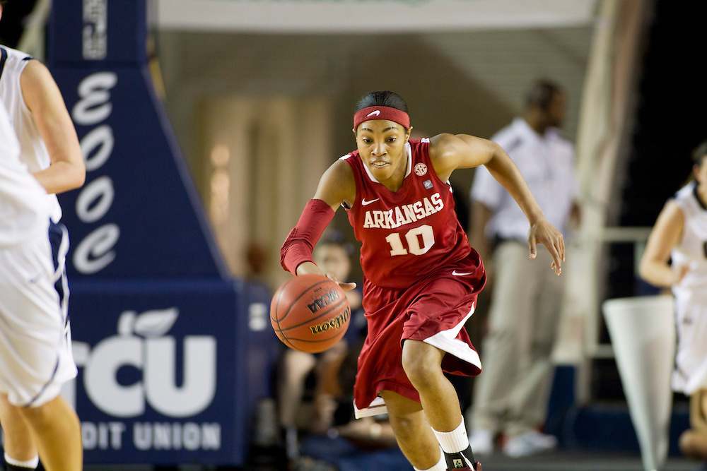 University of Arkansas Razorback 2010-2011 Women's Basketball Team action photos<br /> <br /> <br /> <br /> &copy;Wesley Hitt<br /> All Rights Reserved<br /> 501-258-0920
