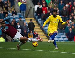 Ruben Loftus-Cheek of Chelsea (R) scores his sides fourth goal - Mandatory by-line: Jack Phillips/JMP - 28/10/2018 - FOOTBALL - Turf Moor - Burnley, England - Burnley v Chelsea - English Premier League