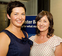 "19/7/2011. Audrey Byrne, Oughterard and Teresa Gilligan Uggooll in McSwiggans for the pre show reception of Propellors ""Comedy of Errors"" by Shakspeare in the Galway Arts Festival, sponsored by Ulster Bank. Photo:Andrew Downes"