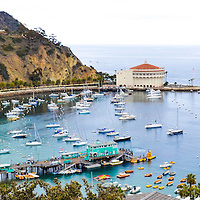 Avalon Bay, Catalina Island, off the coast of Los Angeles