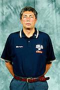 BORMIO, LUGLIO 2004<br /> POSATI SQUADRA PREOLIMPICA<br /> NELLA FOTO: FABRIZIO FRATES<br /> FOTO CIAMILLO
