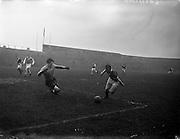 21/02/1958<br /> 02/21/1958<br /> 21 February 1958<br /> Soccer; St Patrick's Athletic v Cork Hibernians at Dalymount Park, Dublin.