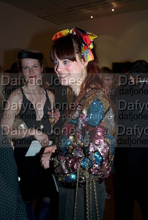 LOUISE LANGKILDE; VIBE LUNDEMARK, The Royal College of Art Fashion Gala. Kensington Gore. London. 11 June 2009.