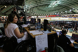 February 28, 2019 - Pruszkow, Poland - Kristina Vogel on day two of the UCI Track Cycling World Championships held in the BGZ BNP Paribas Velodrome Arena on February 28, 2019 in Pruszkow, Poland. (Credit Image: © Foto Olimpik/NurPhoto via ZUMA Press)