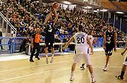 DESCRIZIONE : Vigevano LegaDue All Star Game Eurobet 2013 Est Ovest<br /> GIOCATORE : Matteo Frassineti<br /> SQUADRA : Est<br /> EVENTO : LegaDue All Star Game Eurobet 2013<br /> GARA :  All Star Game Eurobet 2013 Est Ovest<br /> DATA : 03/02/2013<br /> CATEGORIA : Tiro Three Points<br /> SPORT : Pallacanestro<br /> AUTORE : Agenzia Ciamillo-Castoria/A.Giberti<br /> Galleria : LegaDue All Star Game Eurobet 2013<br /> Fotonotizia : Vigevano LegaDue All Star Game Eurobet 2013 Est Ovest <br /> Predefinita :