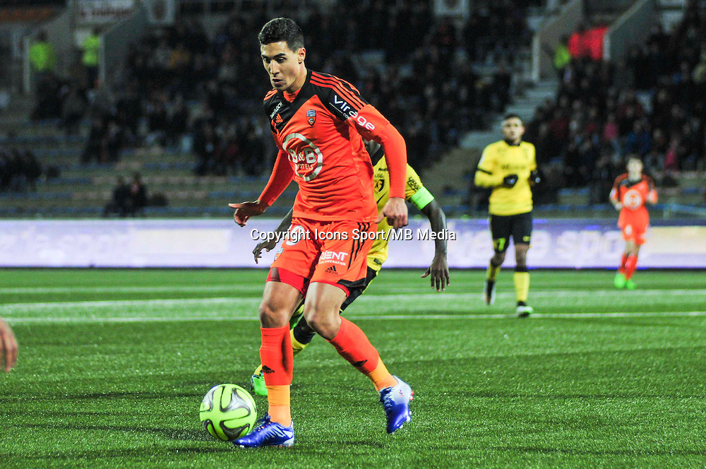 Gianni Bruno  - 17.01.2015 - Lorient / Lille - 21eme journee de Ligue 1 <br /> Photo : Phillipe Le Brech / Icon Sport