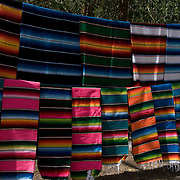 Handcrafts market in Chichen Itza. Yucatan, Mexico.