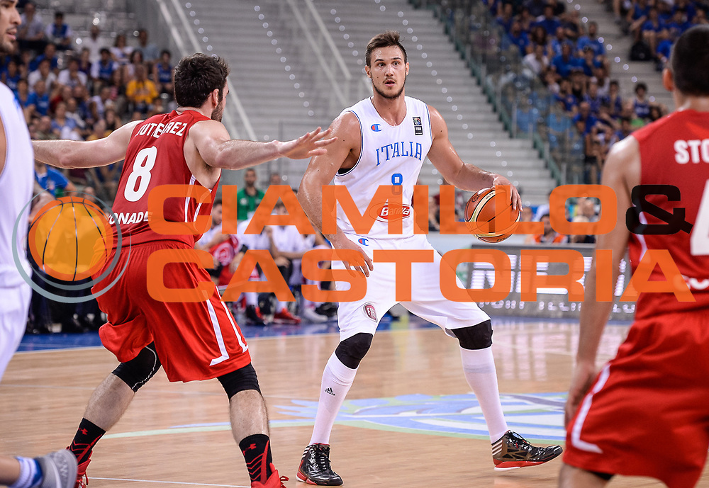 DESCRIZIONE: Torino FIBA Olympic Qualifying Tournament Semifinale Italia - Messico<br /> GIOCATORE: DANILO GALLINARI<br /> CATEGORIA: Nazionale Italiana Italia Maschile Senior<br /> GARA: FIBA Olympic Qualifying Tournament Semifinale Italia - Messico<br /> DATA: 08/07/2016<br /> AUTORE: Agenzia Ciamillo-Castoria