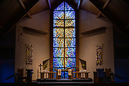 The altar on Wednesday, May 13, 2020, at St. Paul's Lutheran Church, Columbia, Ill. LCMS Communications/Erik M. Lunsford