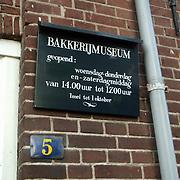 Huizer Bakkerijmuseum gaat sluiten