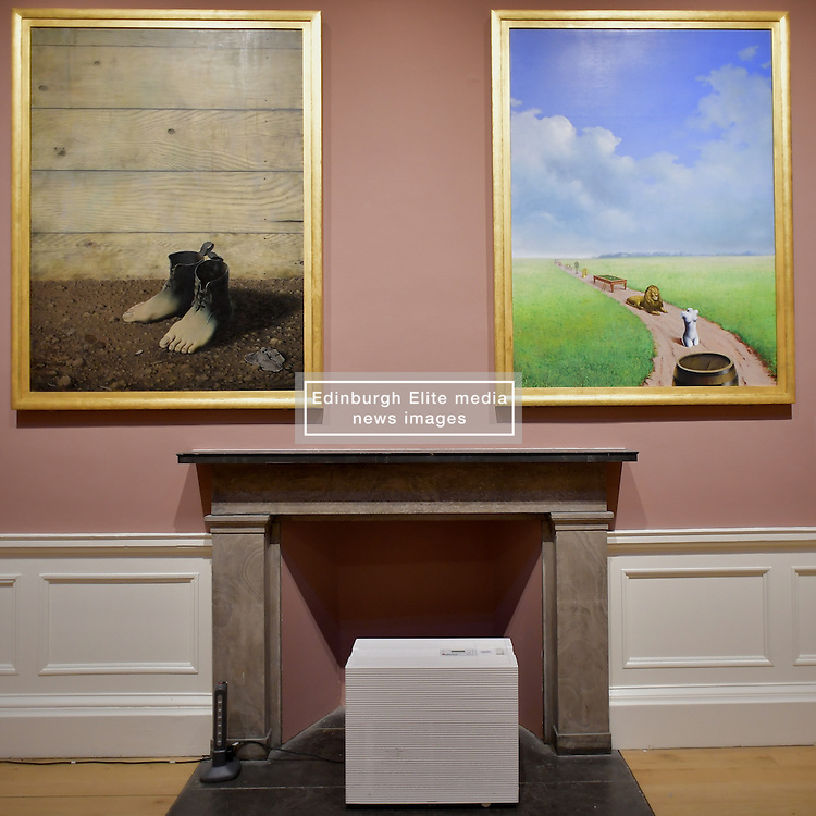 The Red Model III, René Magritte, Rene Magritte, Youth Illustrated, Scottish National Gallery of Modern Art  (Modern One) Surreal Encounters Collection, Edinburgh, 2nd June 2016, <br /> (c) Brian Anderson | Edinburgh Elite media