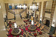 The lobby of the Mayo Hotel on Friday, October 18, 2013, in downtown Tulsa, Oklahoma. <br /> <br /> themayohotel.com/
