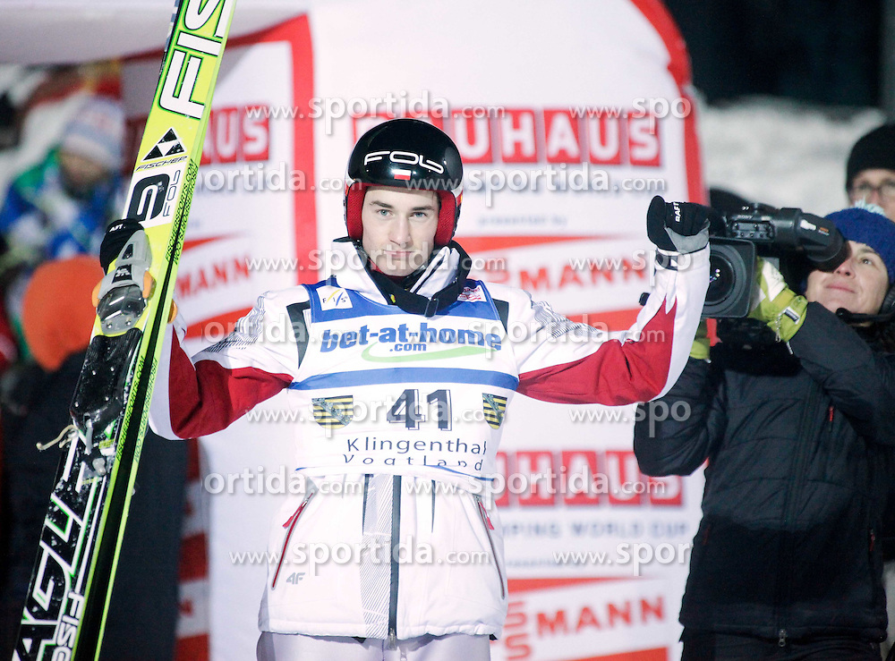 02.02.2011, Vogtland Arena, Klingenthal, GER, FIS Ski Jumping Worldcup, Team Tour, Klingenthal, im Bild Sieger .STOCH Kamil (POL) // during the FIS Ski Jumping Worldcup, Team Tour in Klingenthal, Germany, EXPA Pictures © 2011, PhotoCredit: EXPA/ Jensen Images/ Ingo Jensen +++++ ATTENTION +++++ GERMANY OUT!
