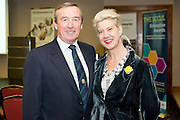 Padraig O Callaghan , SCCUL and Hazel Hendy Samaritans at a Mentor evening for SCCUL Mentor at the Clayton Hotel Galway. Photo:Andrew Downes
