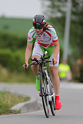 26.06.2015, Einhausen, GER, Deutsche Strassen Meisterschaften, im Bild Claudia Alfes (RSV Seeheim 1971) // during the German Road Championships at Einhausen, Germany on 2015/06/26. EXPA Pictures © 2015, PhotoCredit: EXPA/ Eibner-Pressefoto/ Bermel<br /> <br /> *****ATTENTION - OUT of GER*****