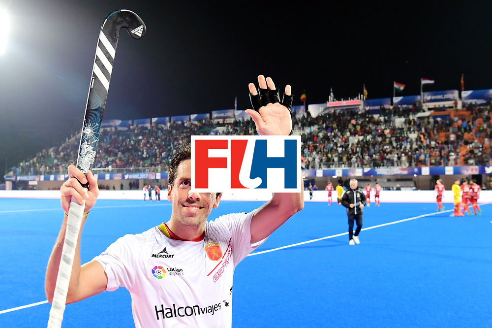 Odisha Men's Hockey World League Final Bhubaneswar 2017<br /> Match id:18<br /> Belgium v Spain<br /> Foto: Belgium wins from Spain<br /> COPYRIGHT WORLDSPORTPICS FRANK UIJLENBROEK