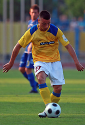 Ales Smon (21) of Koper at 7th Round of PrvaLiga Telekom Slovenije between FC Koper vs NK Domzale, on August, 2008, in SRC Bonifika, in Koper, Slovenia. (Photo by Vid Ponikvar / Sportal Images)