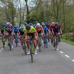 15-04-2018: Wielrennen: Amstel Gold race women: Valkenburg<br />Janneke Ensing miste de slag