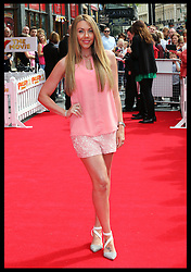 Image licensed to i-Images Picture Agency. 13/07/2014. London, United Kingdom. Michelle Heaton  at the World premiere of Pudsey The Dog : The Movie in London.  Picture by Stephen Lock / i-Images