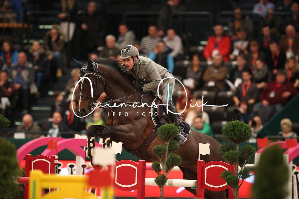 Gaudiano Emanuele, (ITA), Guess 6<br /> Championat of Leipzig<br /> CSIO Leipzig 2016<br /> &copy; Hippo Foto - Stefan Lafrentz