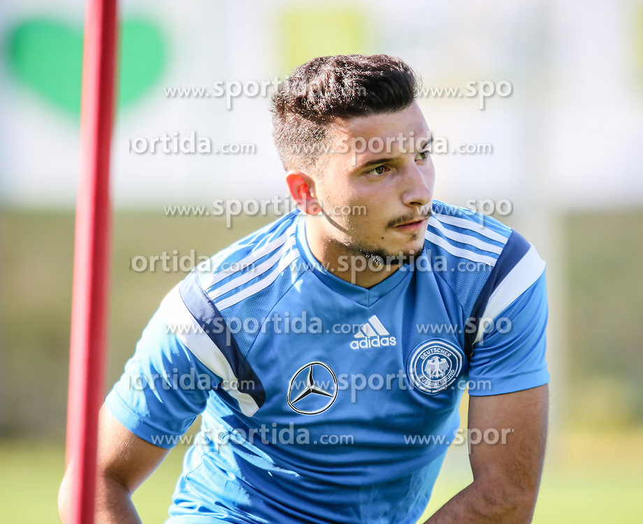 01.07.2016, Athletic Area, Schladming, AUT, U19 EURO, Vorbereitung Deutschland, DFB U19 Junioren, im Bild Arianit Ferati (Fortuna Düsseldorf, Deutschland U19) // during a training camp of Team Germany for preparation for the UEFA European Under-19 Championship at the Athletic Area, Austria on 2016/07/01. EXPA Pictures © 2016, PhotoCredit: EXPA/ Martin Huber