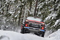 February 15, 2018 - Suede - Kris Meeke (GBR) – Paul Nagle (IRL) - Citroen C3 WRC (Credit Image: © Panoramic via ZUMA Press)