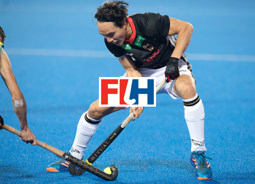 Odisha Men's Hockey World League Final Bhubaneswar 2017<br /> Match id:05<br /> 05 GER v AUS (Pool B)<br /> Foto: Dan Nguyen (Ger) <br /> WORLDSPORTPICS COPYRIGHT FRANK UIJLENBROEK