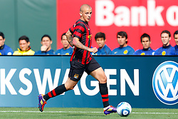 July 16, 2011; San Francisco, CA, USA;  Manchester City midfielder Vladimir Weiss (40) dribbles the ball against Club America during the first half at AT&T Park. Manchester City defeated Club America 2-0.