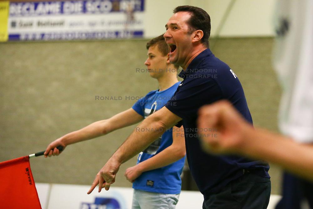 20160326 NED: Volleybal: Sliedrecht Sport - SV Dynamo 2, Sliedrecht  <br />Tim Oskam