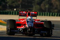Motorsports / Formula 1: World Championship 2011, Test Valencia, Timo Glock ( GER, Virgin )