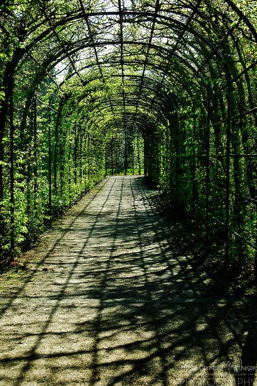 Kasteeltuinen Arcen Gardens Gate near Venlo in Limburg Province, The Netherlands
