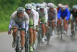 Walter Proch of Italia (LPR Brakes) leading the peloton in last 4th stage of the 15th Tour de Slovenie from Celje to Novo mesto (157 km), on June 14,2008, Slovenia. (Photo by Vid Ponikvar / Sportal Images)/ Sportida)