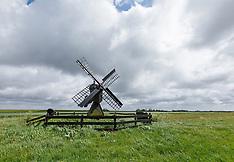 Texel weidemolens, Natuurmonumenten, Spang, Texel, Noord Holland